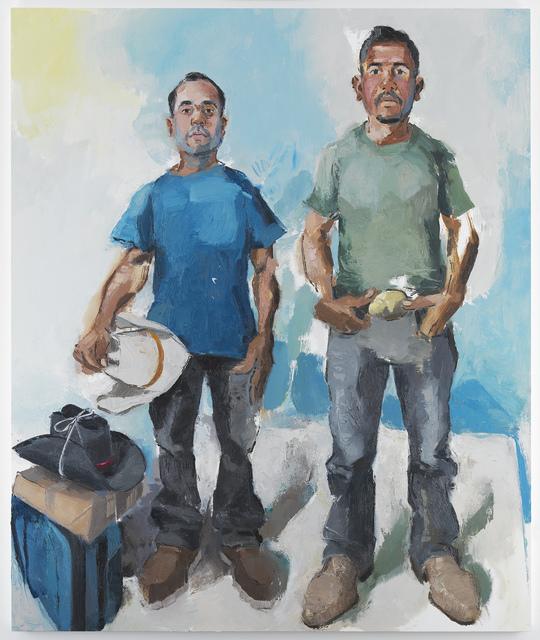 , 'Miguel & Christian,' 2017, Miles McEnery Gallery