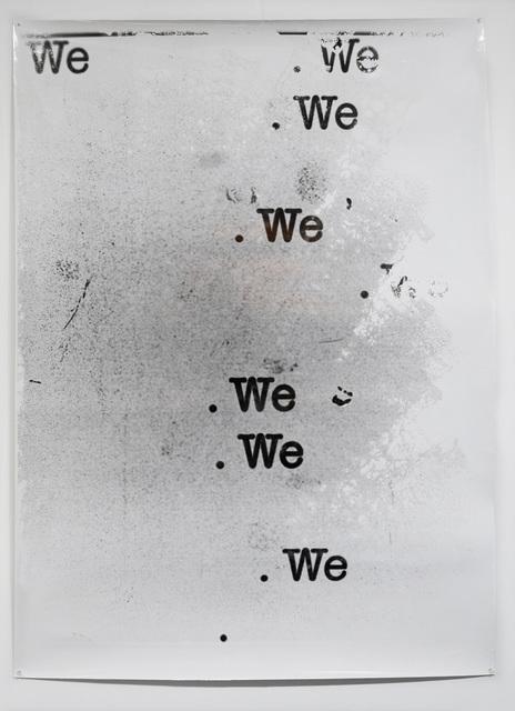 Farrah Karapetian, 'We (Light)', 2019, Photography, Silver gelatin photogram from digital internegative, Diane Rosenstein