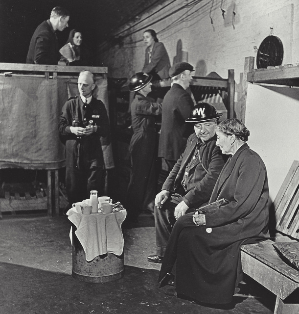 Robert Capa, 'London, England, evening tea in an air raid shelter', 1941, Elizabeth Houston Gallery