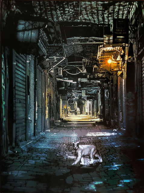 , 'White Cat in Marrakesh,' 2018, McCaig-Welles