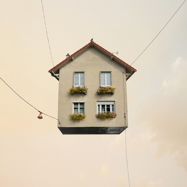 , 'Flying Houses #1,' 2012, Galeria Lume