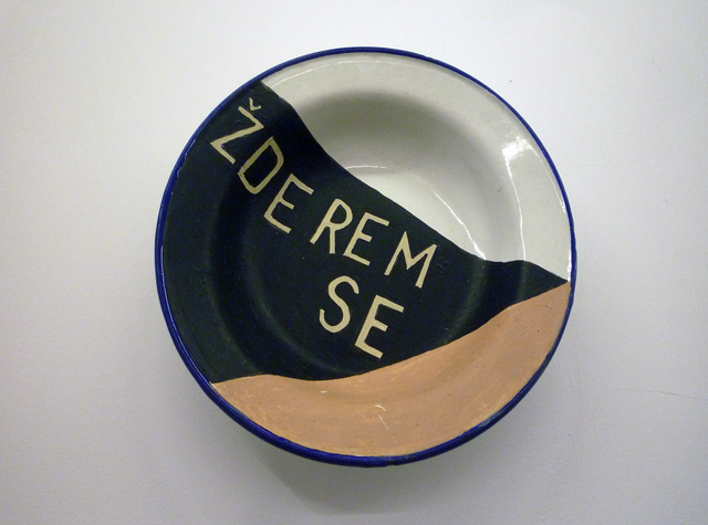 , 'Zderem se / I eat myself,' 1997, espaivisor - Galería Visor