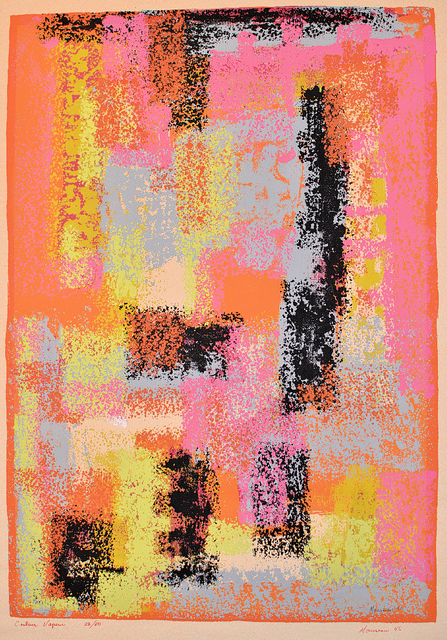 , 'Colour Vapeur,' 1956, Canadian Art Group