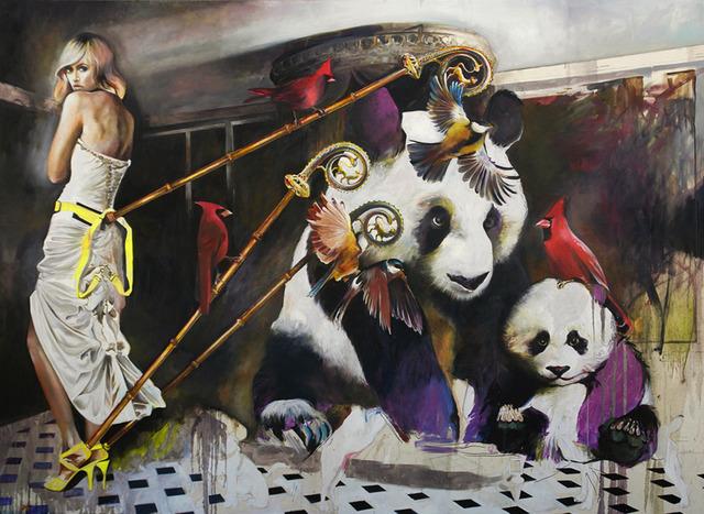 , 'Doo Doo Doo Doo Doo,' 2012, Wide Painting