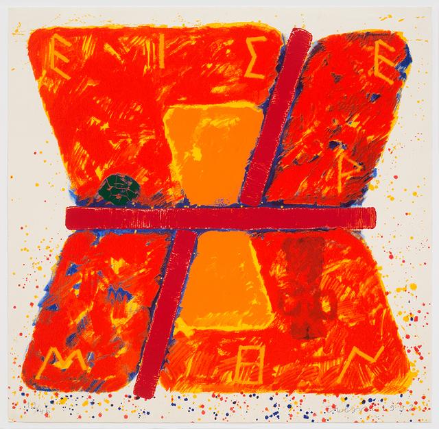 , 'The Homeric Hymn to Hermes,' 1992, Alan Cristea Gallery