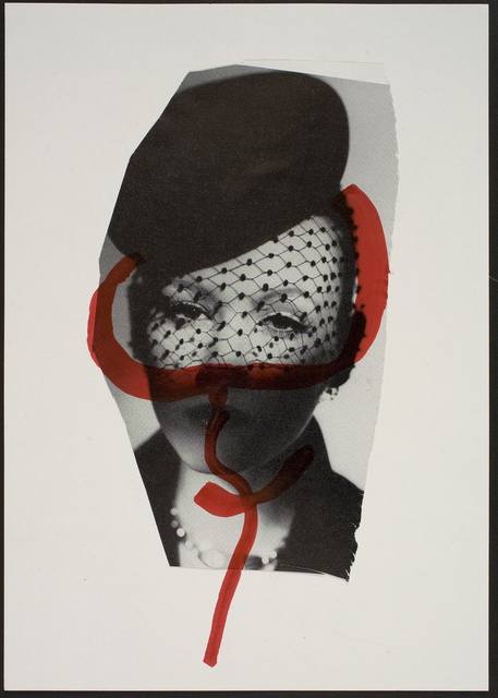 , 'One of a total of 484 works from the series Cuttings on Paper with the Female Sign,' 1974, Statens Museum for Kunst