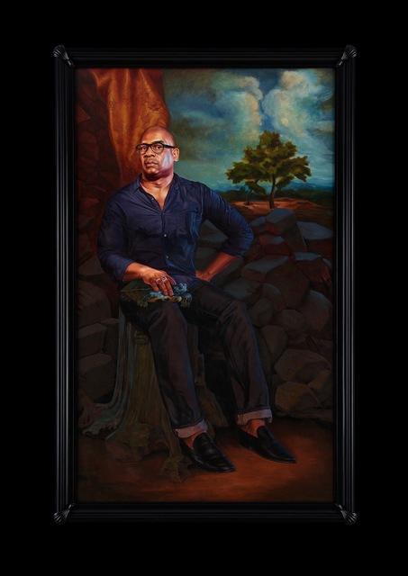 , 'Portrait of Glenn Ligon, Hermes,' 2017, Sean Kelly Gallery