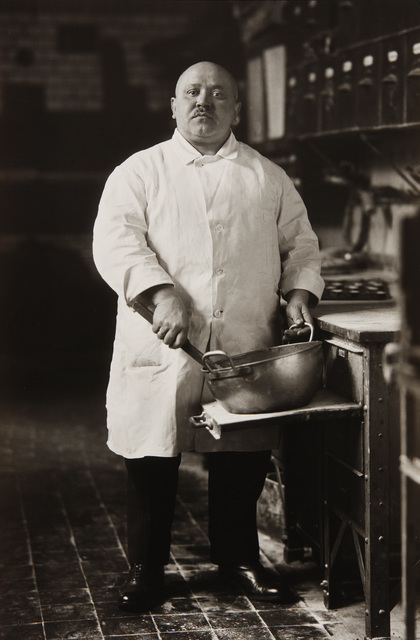 August Sander, 'Konditor (Pastry Chef), Cologne', 1928, Photography, Gelatin silver print, printed 1993., Phillips