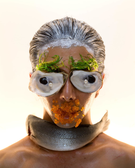 Martine Gutierrez, 'Masking, Fish Mask, p48 from Indigenous Woman', 2018, RYAN LEE