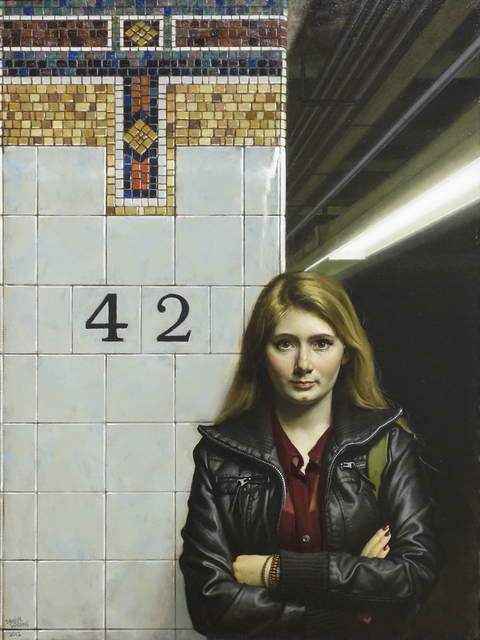 , 'Young Girl - 42nd St.,' 2012, Gallery Henoch