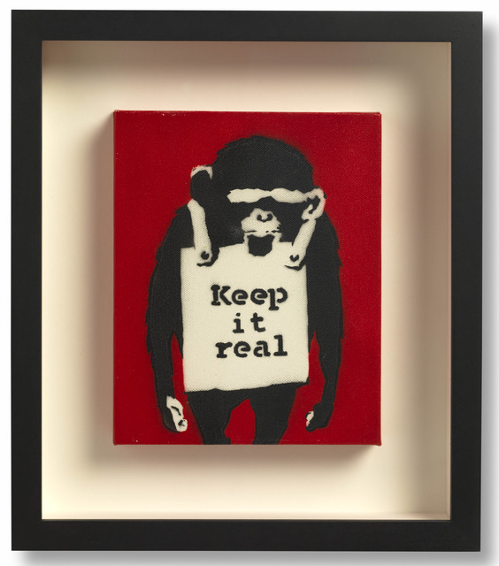 Banksy, 'Keep It Real,' 2003, Lazinc
