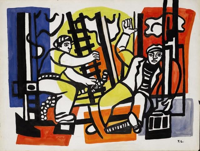 , 'Etude pour les constructeurs,' , Opera Gallery