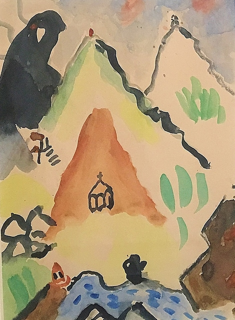 , 'Hydra-Yellow Mountain,' 1952, Lawrence Fine Art