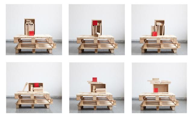, 'Seis Posiciones en el Espacio de Trabajo,' 2012, Agustina Ferreyra