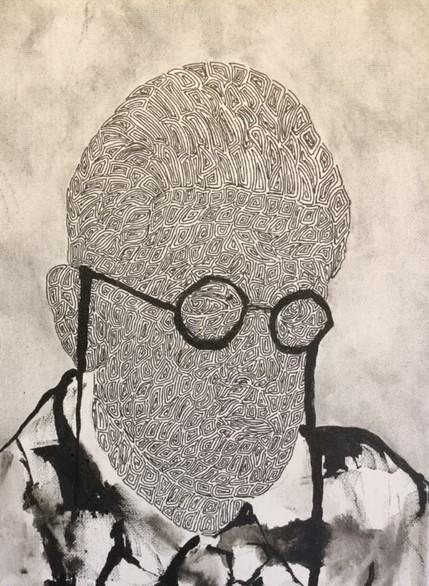 , 'Sartre (Student),' 2019, SinArts Gallery