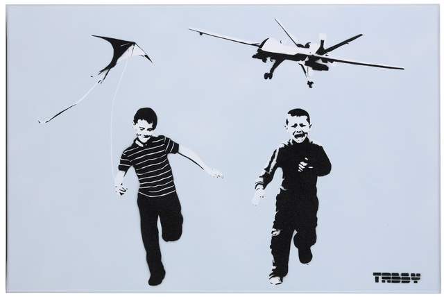 TABBY, 'The Wonder Years', 2015, Painting, Spraypaint And Stencil On Canvas, Chiswick Auctions