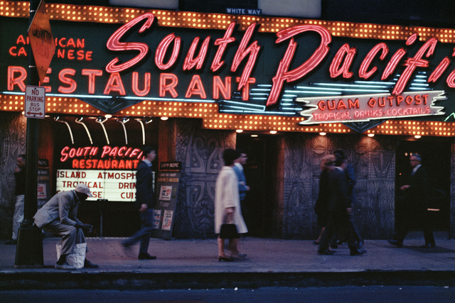 , 'South Pacific restaurant, Chicago,' 1966, David Hill Gallery