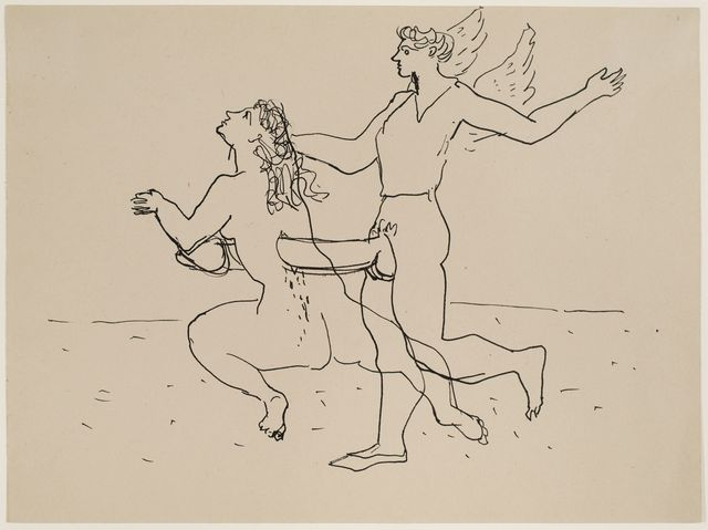 , 'Untitled (Erotic Drawing),' ca. 1941, Allan Stone Projects