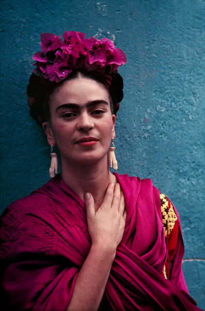 , 'Frida With Picasso Earrings,' 1939, Matthew Liu Fine Arts