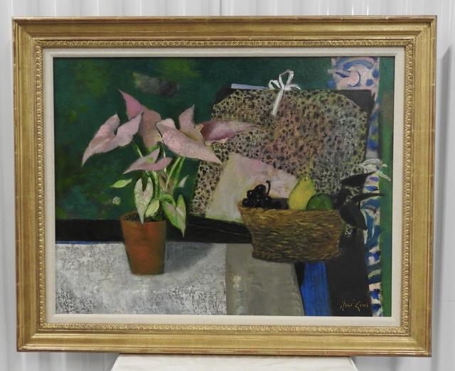 Rene Genis, 'La carton à dessins', 1991, Painting, Oil on canvas, Artioli Findlay