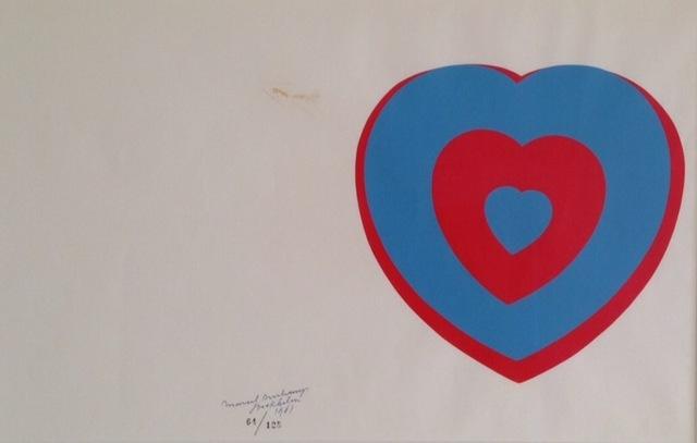 Marcel Duchamp, 'Coeurs Volant (Fluttering Hearts)', 1961, Grob Gallery
