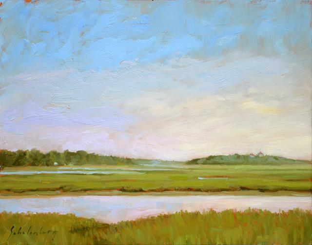 , 'View from Hemenway Landing,' 2018, Addison Art Gallery