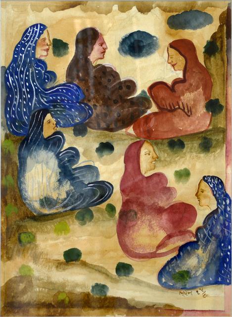 , 'Untitled,' 1986, Swaraj Art Archive