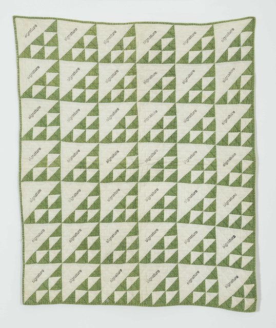 , 'Signature Quilt II,' 2018, Galerie Fons Welters