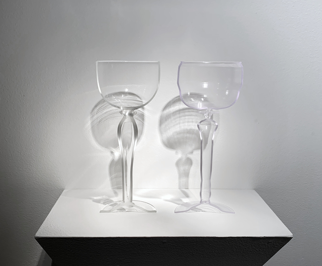 , 'PLATE 16, GOBLET WITH LONG STEM,' 2019, Heller Gallery