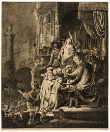 Christ before Pilate: Large Plate