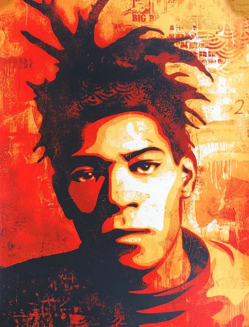 Shepard Fairey, 'Shepard Fairey Basquiat screenprint', 2010, Lot 180