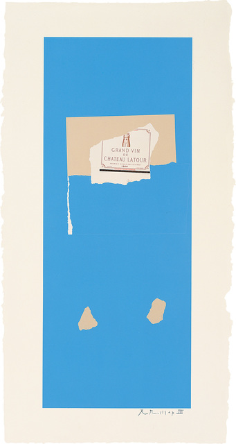 , 'Summer Light Series: Pauillac, No.4,' 1973, Bernard Jacobson Gallery