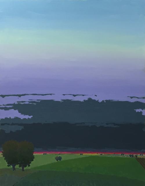 John Karl Claes, 'Dark Clouds - Evening', ÆRENA Galleries and Gardens
