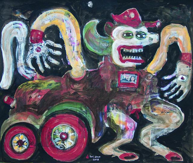 , 'The Television Obsession,' 2016, Mizuma Art Gallery