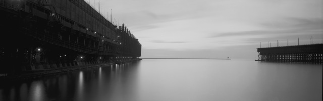 , 'MD&IR Docks, Agate Bay, Two Harbors, Minnesota,' 1994, Rosier Gallery