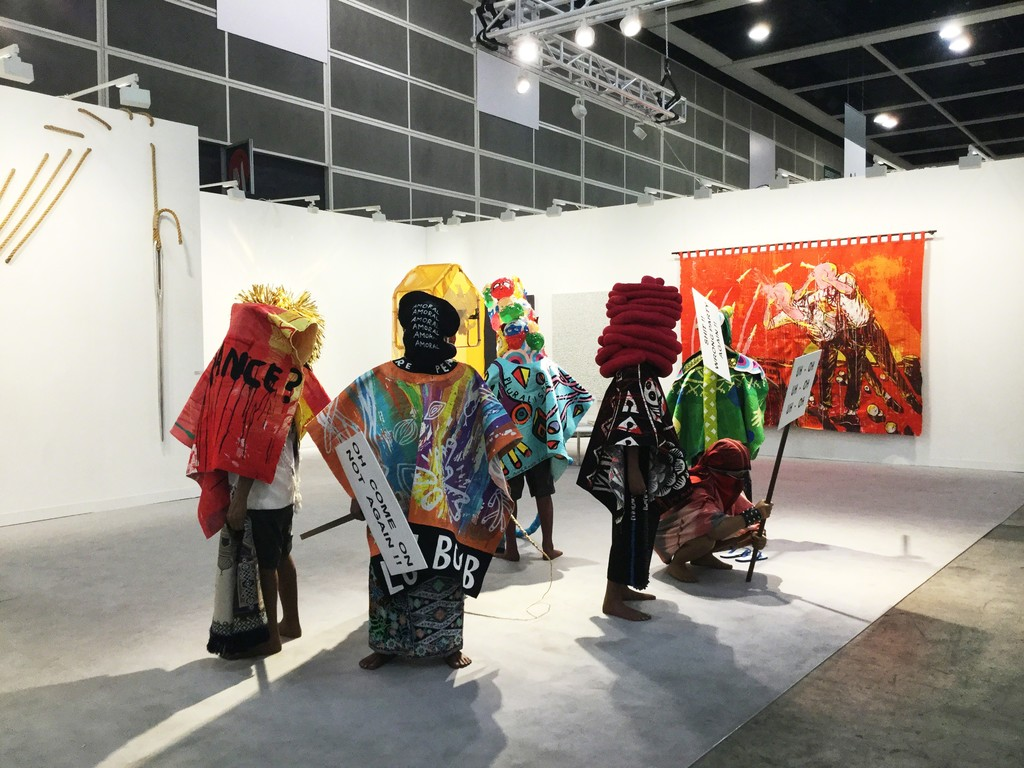 ARARIO GALLERY at Art Basel Hong Kong 2017, Booth 1D40, Works by Eko NUGROHO.