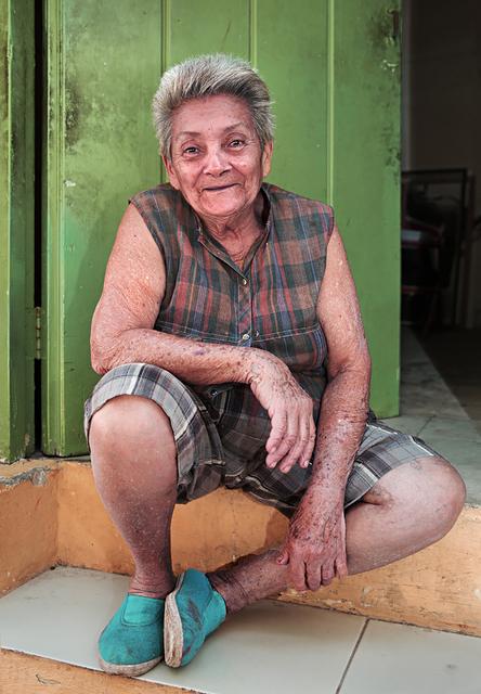, 'Lady in Green Doorway,' , Soho Photo Gallery