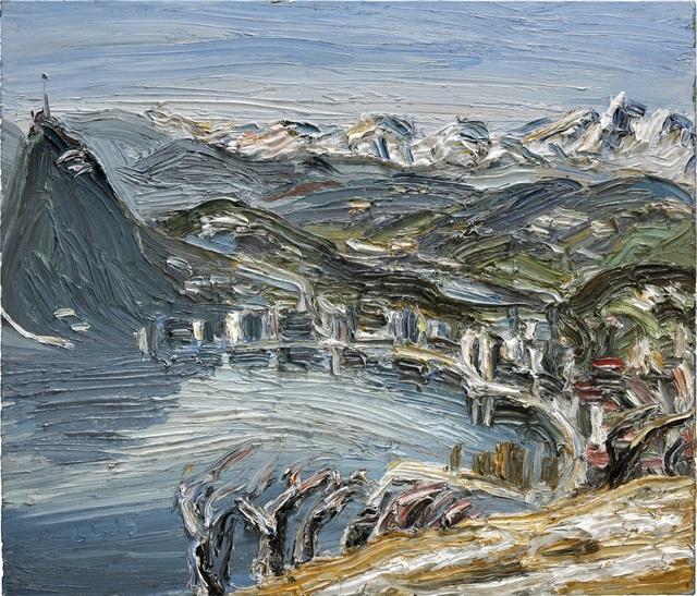 Christopher Lehmpfuhl, 'Frühjahrslicht Am Monte Bré', 2015, GALERIE URS REICHLIN