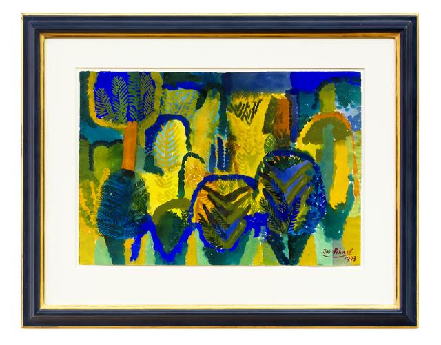 , 'Herbstlicher Wald (Autumn Forrest),' 1943, Hagemeier