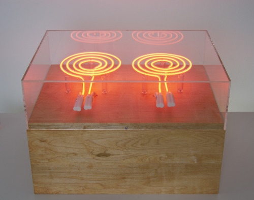 , 'neon burners,' 2012, Art Mûr