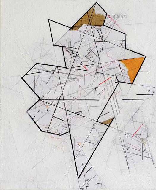 , 'Mapping Infinity, Chart #3,' 2017, Gallery Elena Shchukina