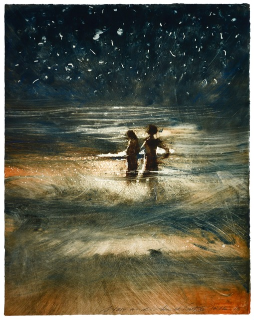 , 'Stars and Sea at Night XI,' 2015, Marlborough London