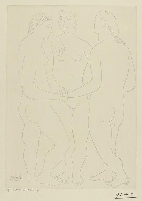 Pablo Picasso, 'Les Trois amies (Bloch 76; Baer 117)', Sotheby's