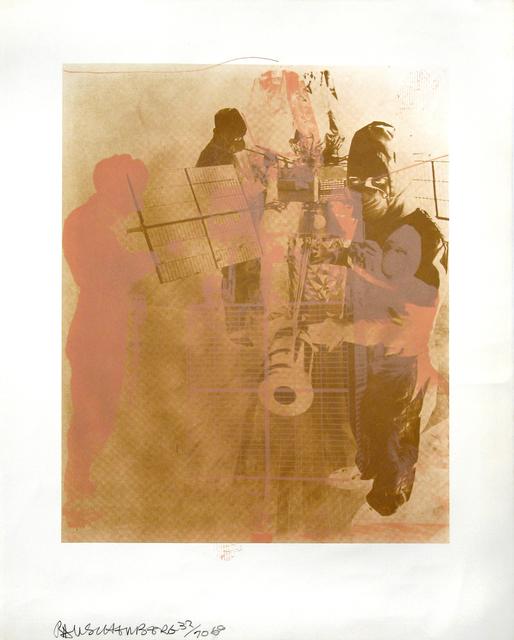Robert Rauschenberg, 'Shell, Stoned Moon Series', 1969, Woodward Gallery