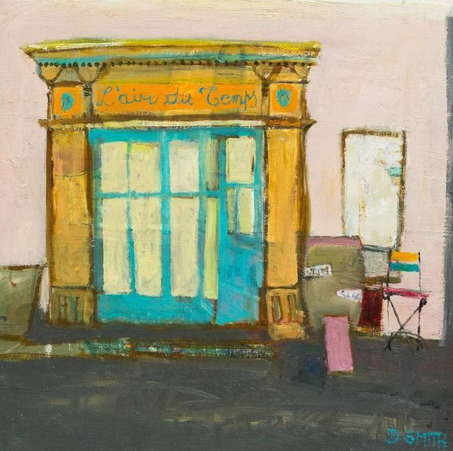 , 'Cafe, Azille,' 2018, Lime Tree Gallery