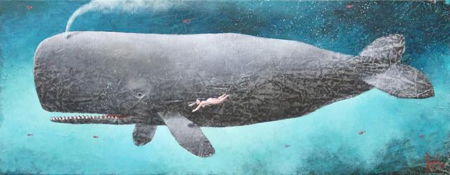, 'The Grey Whale,' 2019, Rebecca Hossack Art Gallery