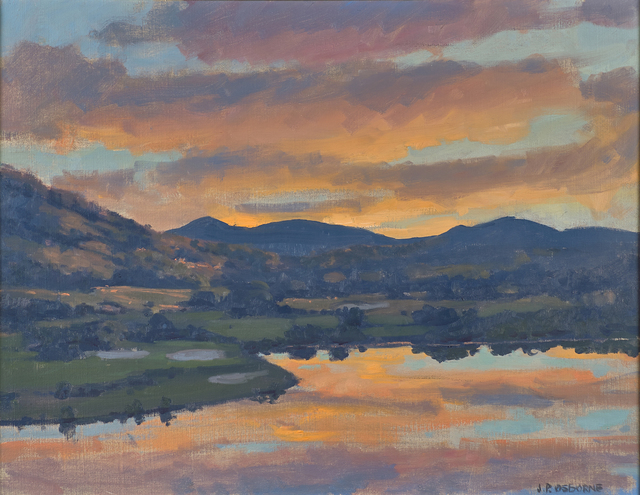 John Phillip Osborne, 'The End of the Day', Painting, Oil on canvas (framed), Rago/Wright