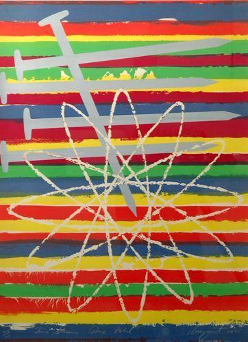 James Rosenquist, 'Time Stream, Prix Nobel ', 1975, Tillou Fine Art