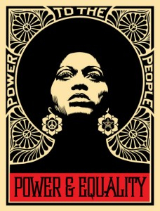 Shepard Fairey (OBEY), 'Afrocentric', KP Projects