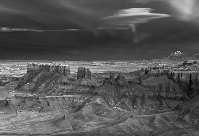 Mitch Dobrowner, 'Nacreous Over Badlands', 2019, photo-eye Gallery